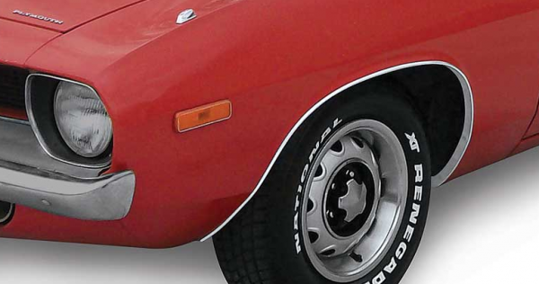 Mopar Interior Door Handle Set Window Crank Kit 1970-74 Plymouth Barracuda Cuda