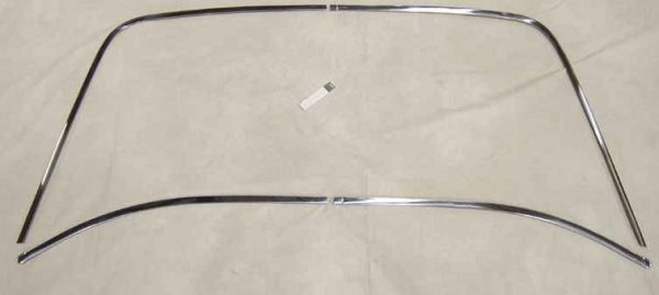 WINDOW MOLDING TRIM CLIP REAR DART 68-76 SCAMP A-BODY BACK GLASS HARDWARE KIT