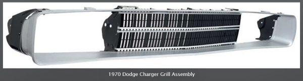 1970 Dodge Charger OEM Front Valance Hardware Set