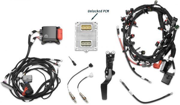 gen iii 345 hemi 5 7 pcm wiring management kit